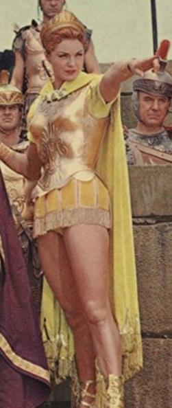 1955-02-18 Esther Williams - Jupiter's Darling - Amytis | WOmWAm Review  Image Catalog